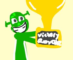 shrek wins award