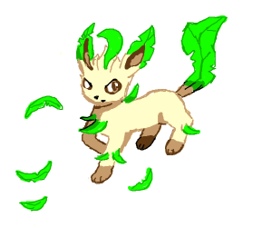 Leafeon, use attack!