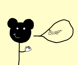 Mickey Mouse Burping