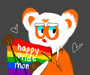 Happy pride month from Kung Fu Panda