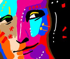 Psychedelic Mona Lisa
