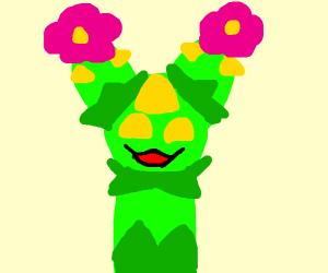 A very happy Pokemon