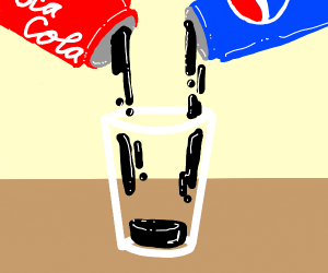 Combining Coca Cola with Pepsi