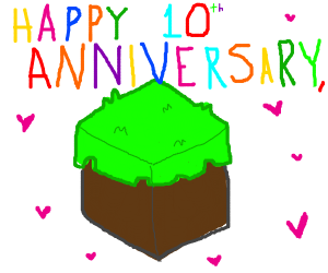 Happy 10th Anniversary, Minecraft!