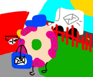 Donut Mailman