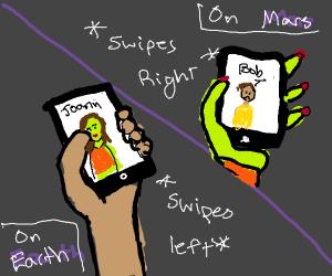 Interplanetary Tinder