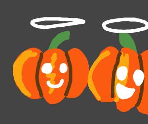Angelic Pumpkins