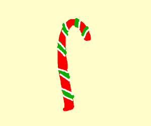 Green/red candy cane