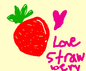 give strawberries love!