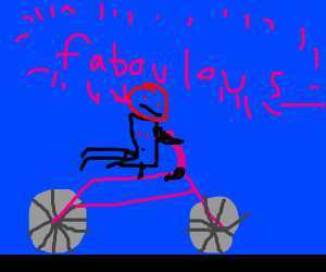 the most fabulous bicyclist