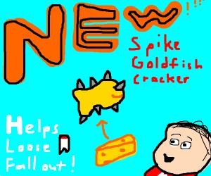 NEW spikes goldfish!