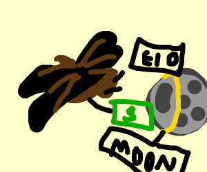 Moth buying the Moon