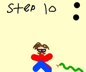 step 9: escape prison