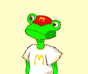 Why is there a toad in my McDonald's?