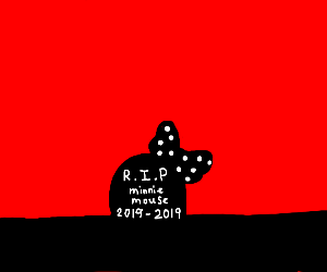 Minnie mouse's grave