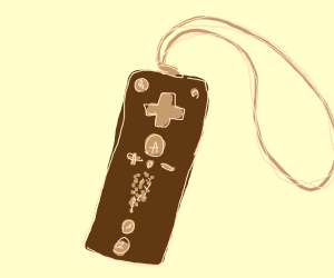 brown wii remote?