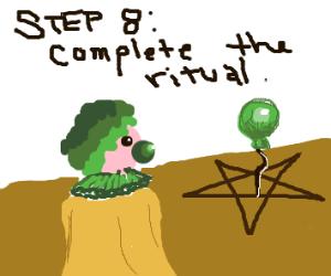 Step 7:  sacrifice a balloon