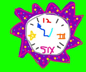 Weird clock