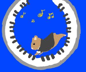 Piano Hamster