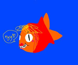 Creepy Horny Fish