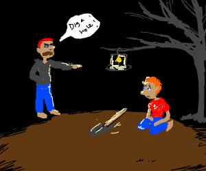 Professor Digging - Drawception