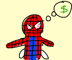 Spiderman needs a job
