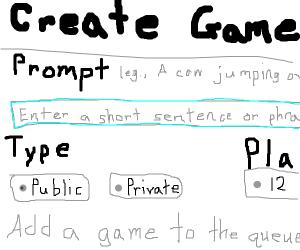 Enter in  short sentence or phrase