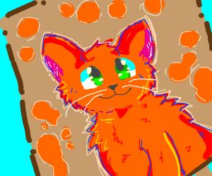 A very good cat art