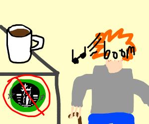 Doesn't like Starbucks so boomer