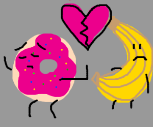 i donut want your love banana