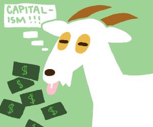 A Capitalist Goat