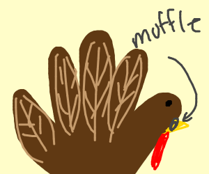 Miffed turkey