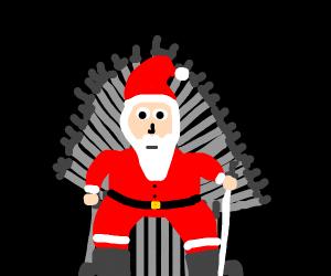 game of thrones, santa is the true heir