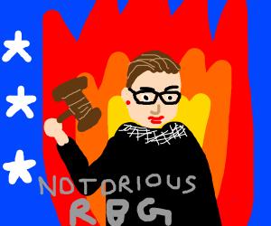 USA judge on fire