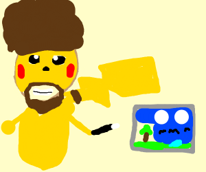 Bob Ross Pokemon