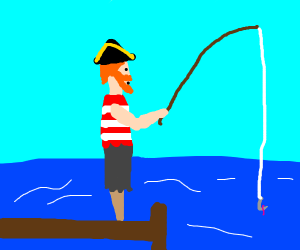 fishing pirate