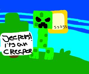 J E E P E R S   It's A  CREEPER