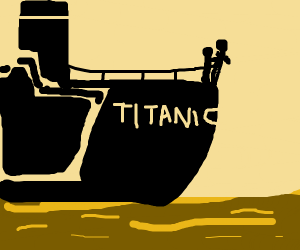 titanic girl scene