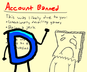 Banned from Drawception