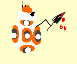 BB-8 goes on a murdering spree