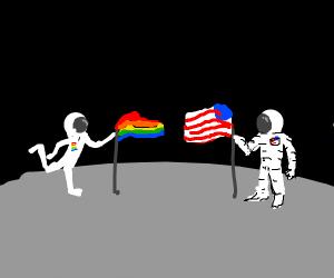 Controversial Astronaut