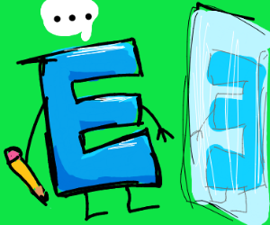 "Drawnception ""D"" became an ""E"" and now have c"