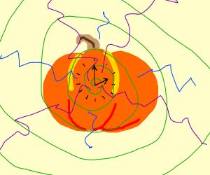 Pumpkin time machine