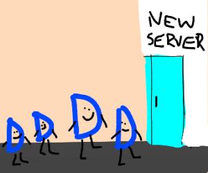 drawception server migration