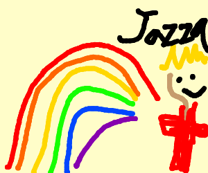 There's a Jazza at the end of the rainbow