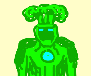 broccoli iron man