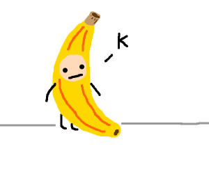 man in a banana costume