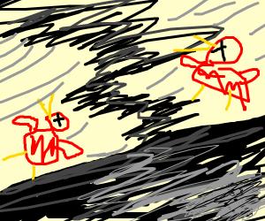 Tornado kills birds