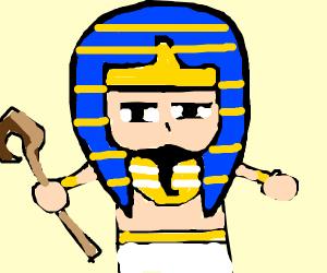 Serious pharaoh