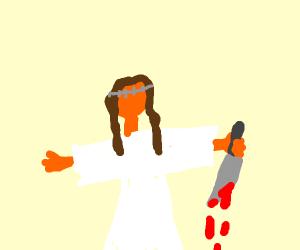 Jesus's plan B is murder